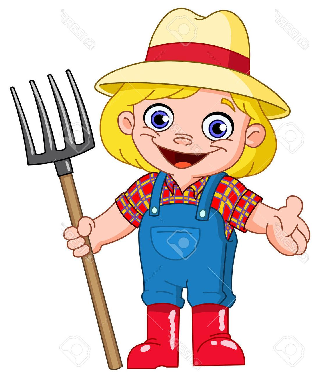 1100x1300 Top Old Cartoon Farmer Girl Vector Cdr Free Vector Art, Images