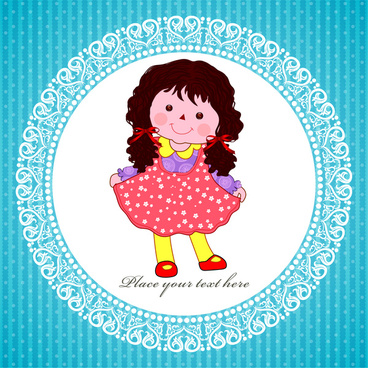 368x368 Baby Girl Vector Free Vector Download
