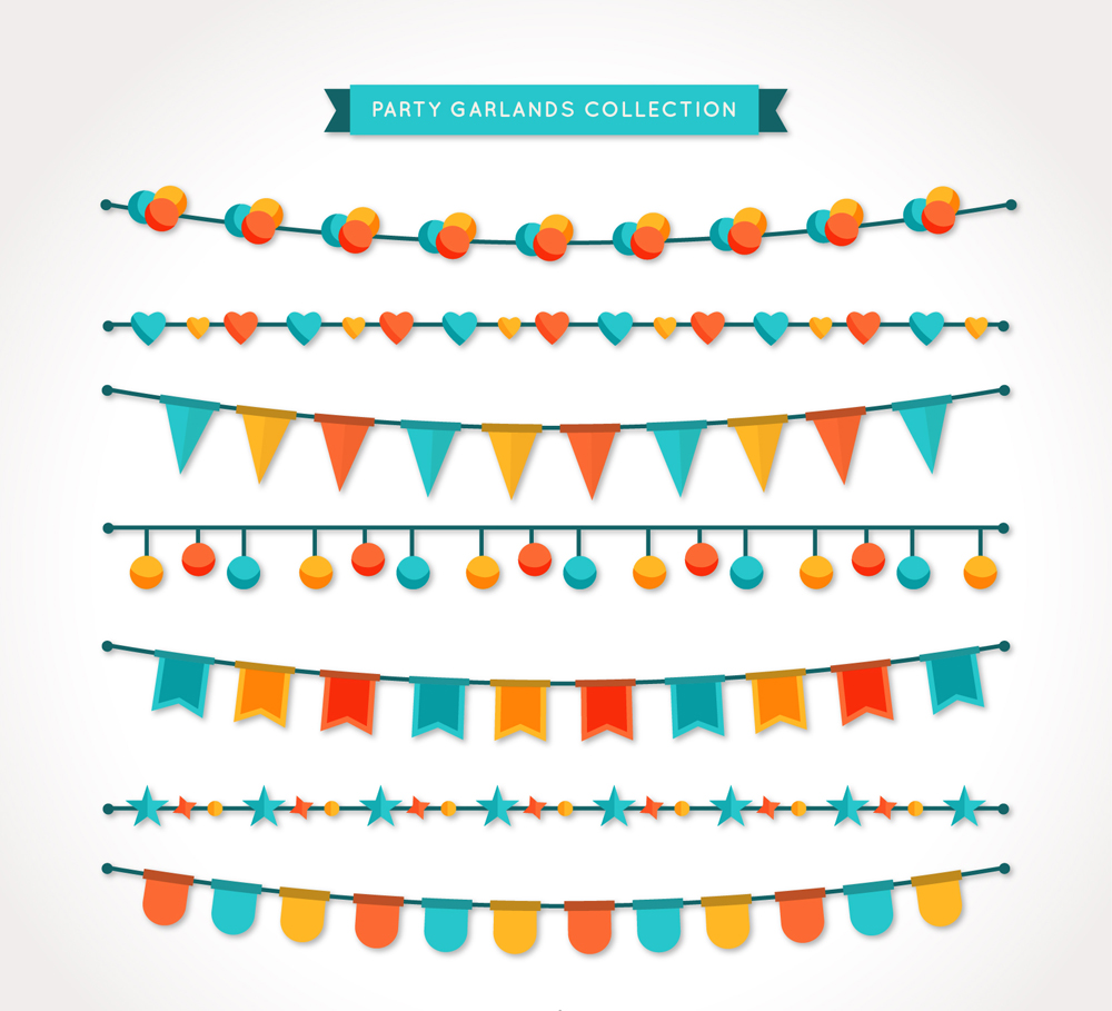 Party Lights Vector